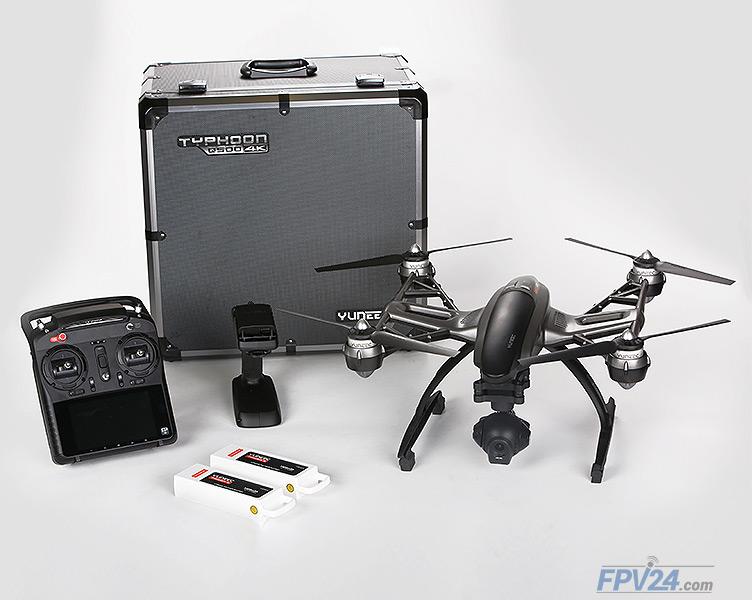 Yuneec Q500 4K Typhoon RTF incl. 4K Kamera, 2 Akkus, Stea...