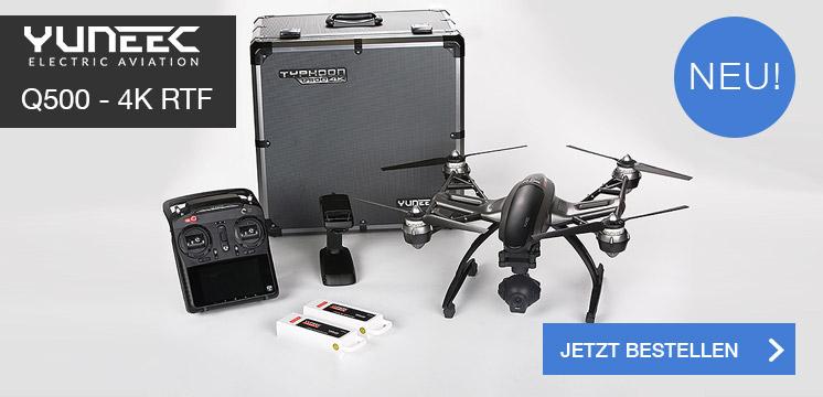 Yuneek Q500 - 4k - RTF - Set